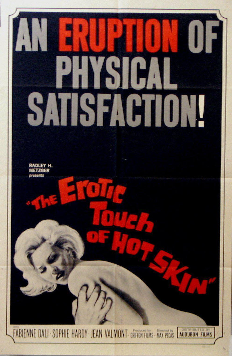 The Erotic Touch of Soft Skin 1 Sheet (27x41) Original Vintage Movie Poster