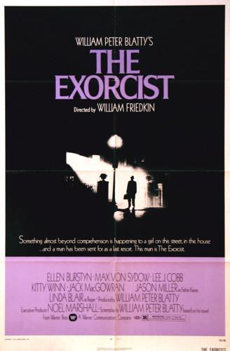 The Exorcist 1 Sheet (27x41) Original Vintage Movie Poster