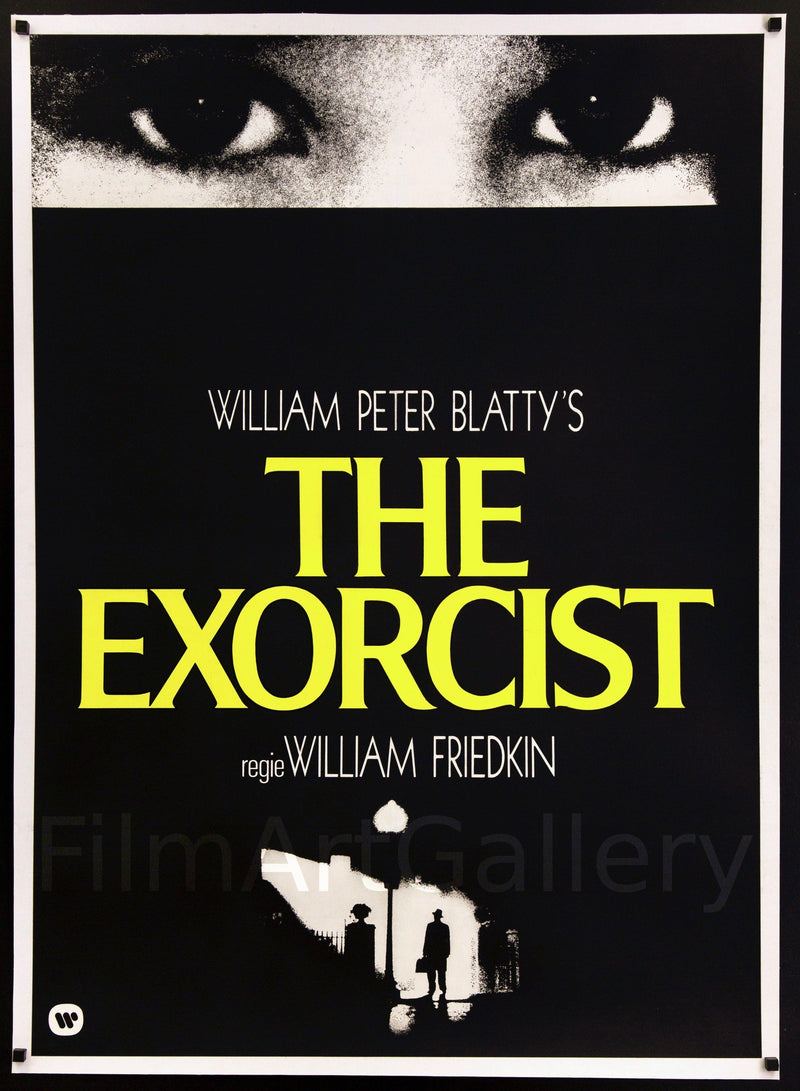 The Exorcist 33x47 Original Vintage Movie Poster