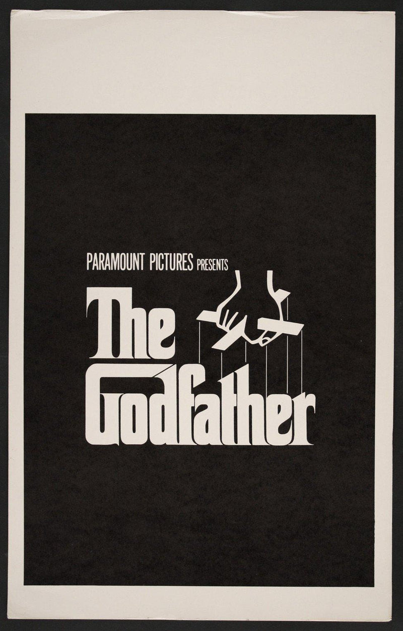 The Godfather Window Card (14x22) Original Vintage Movie Poster