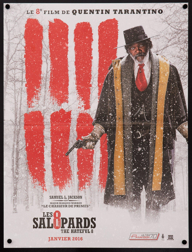The Hateful Eight French Mini (16x23) Original Vintage Movie Poster