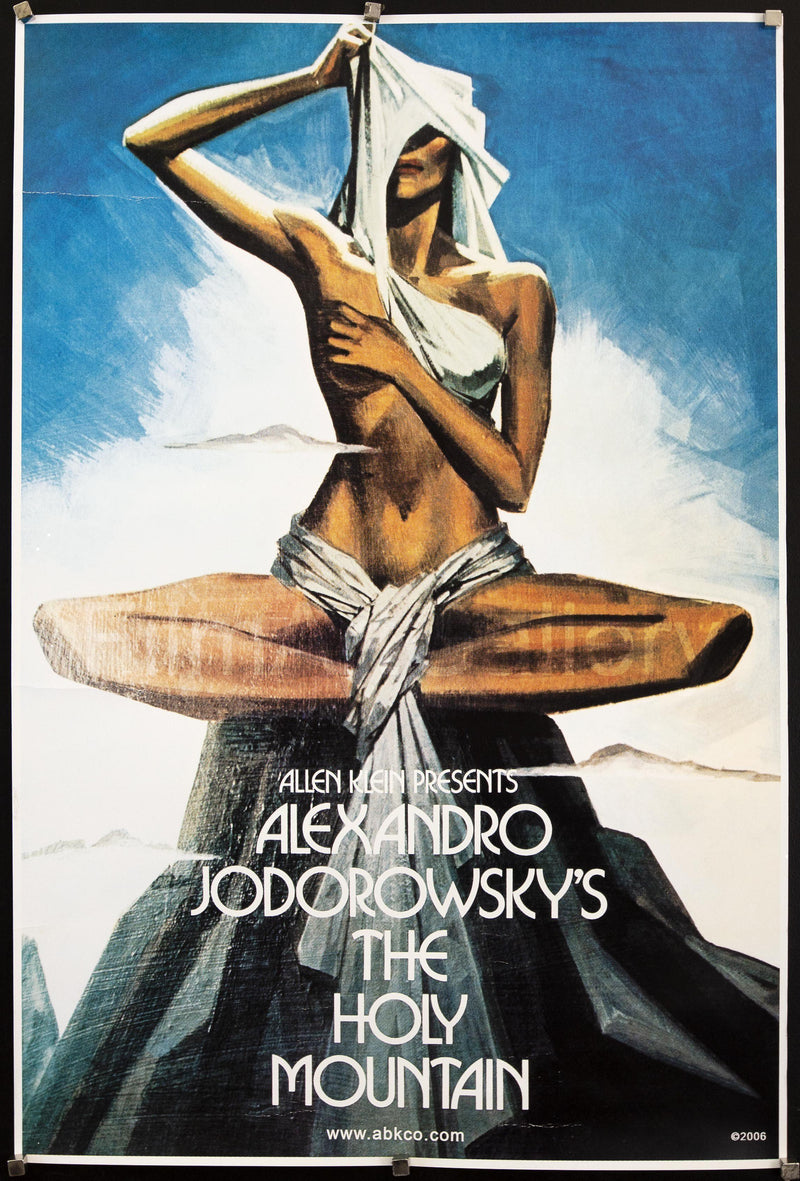 The Holy Mountain 1 Sheet (27x41) Original Vintage Movie Poster