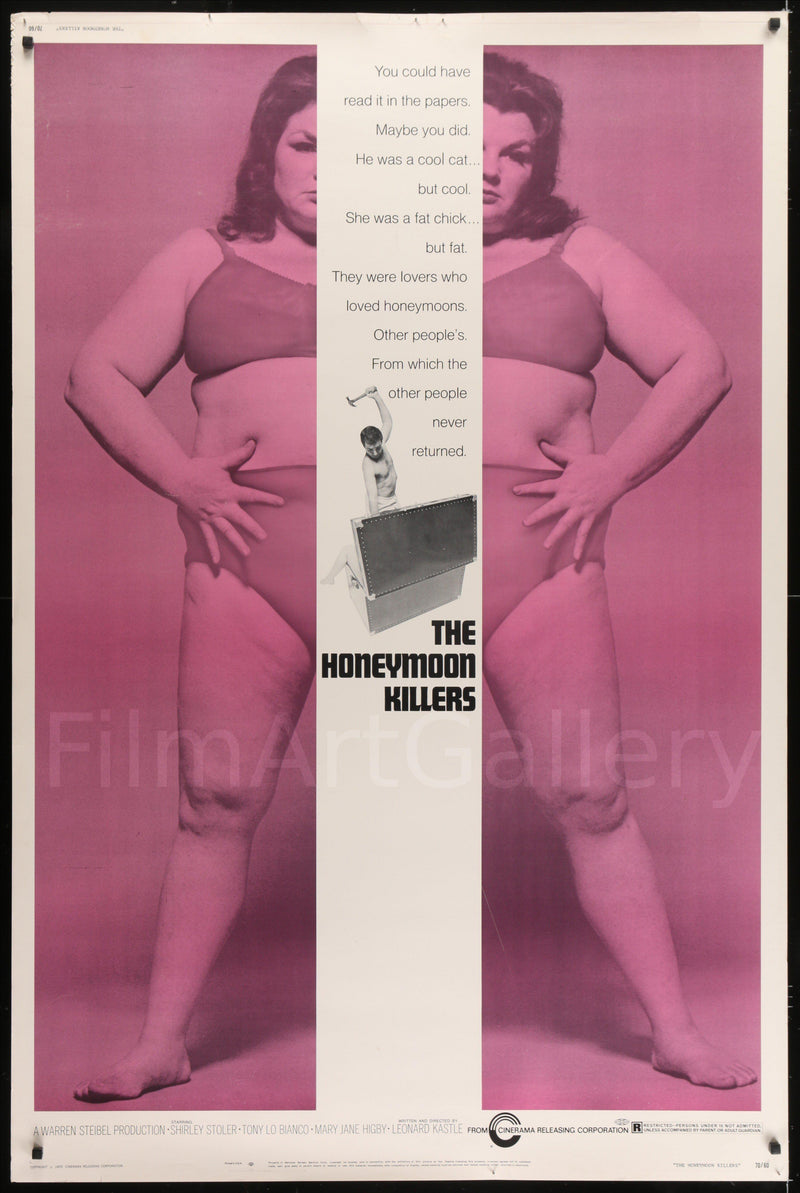 The Honeymoon Killers 40x60 Original Vintage Movie Poster