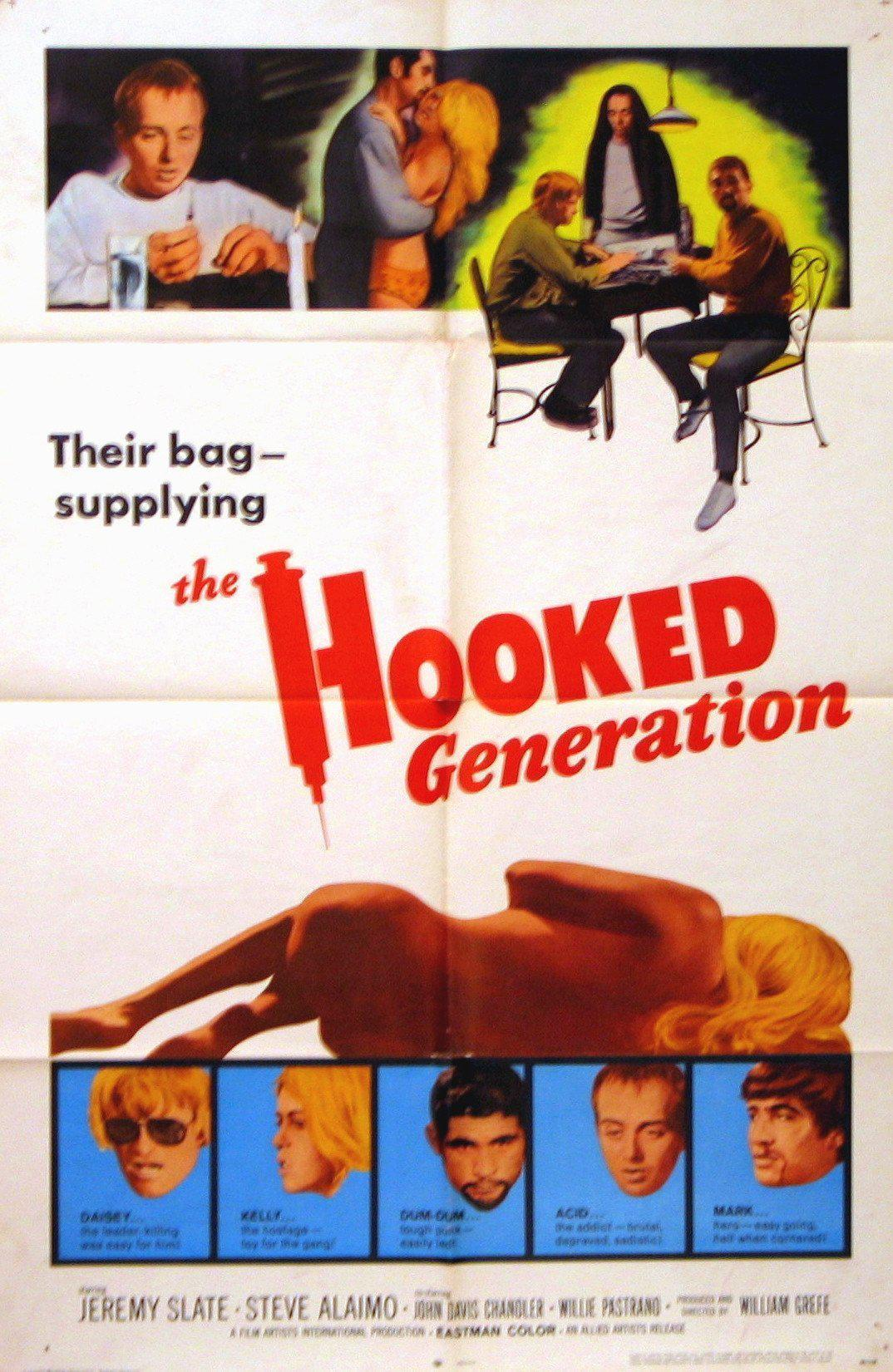 The Hooked Generation 1 Sheet (27x41) Original Vintage Movie Poster