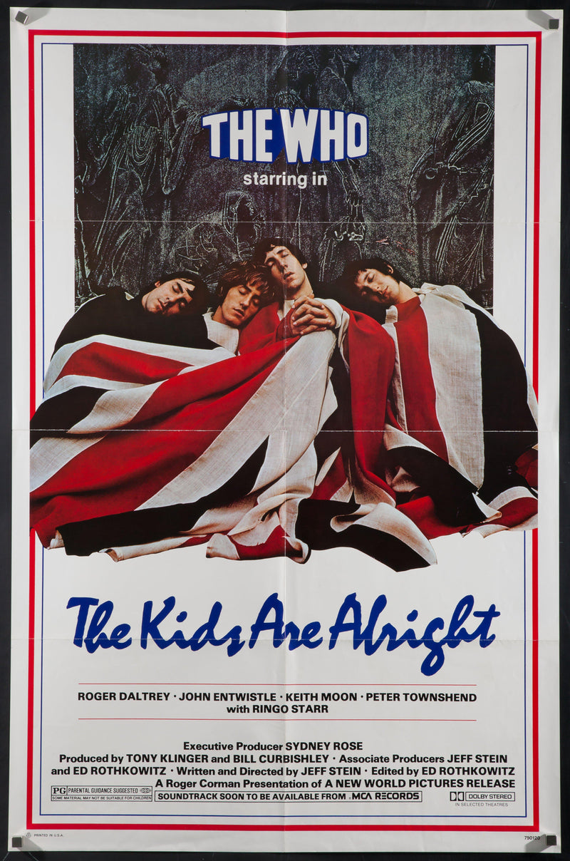 The Kids are Alright 1 Sheet (27x41) Original Vintage Movie Poster