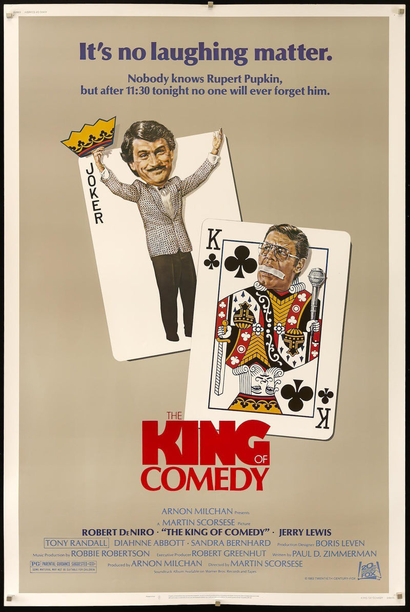 The King of Comedy 40X60 Original Vintage Movie Poster