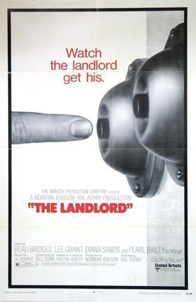 The Landlord 1 Sheet (27x41) Original Vintage Movie Poster