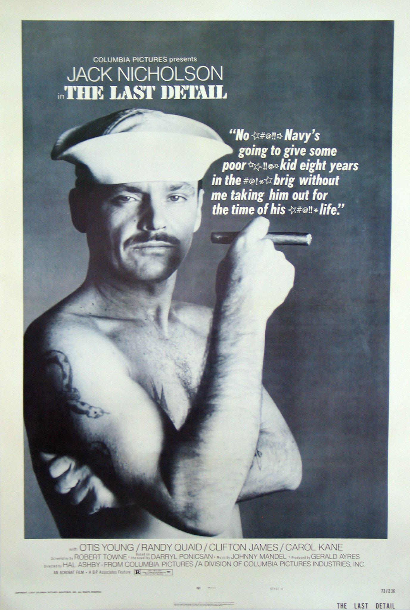 The Last Detail 1 Sheet (27x41) Original Vintage Movie Poster