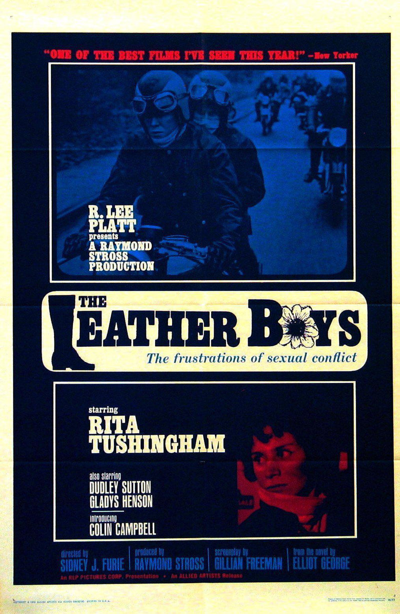 The Leather Boys 1 Sheet (27x41) Original Vintage Movie Poster