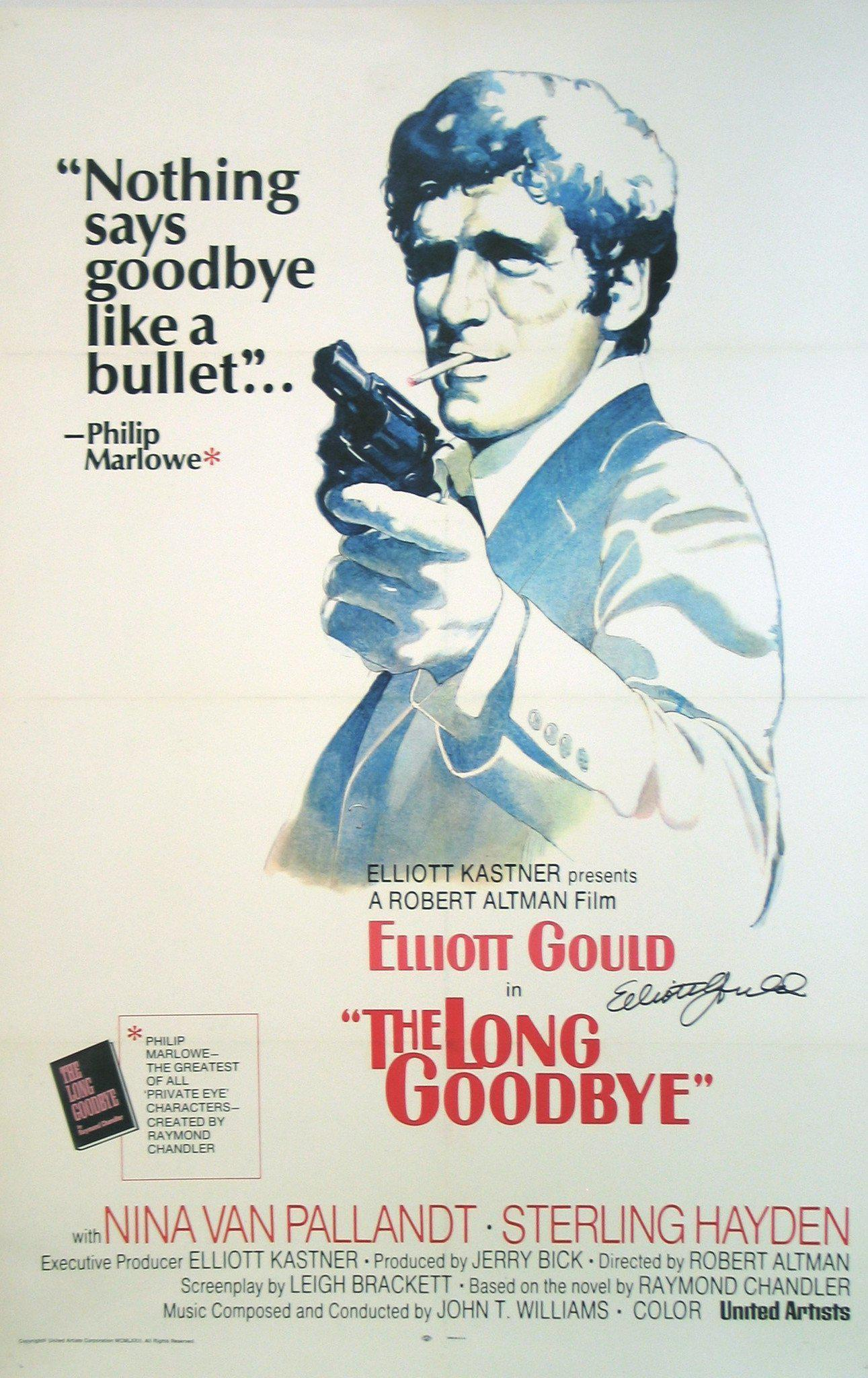 The Long Goodbye 1 Sheet (27x41) Original Vintage Movie Poster