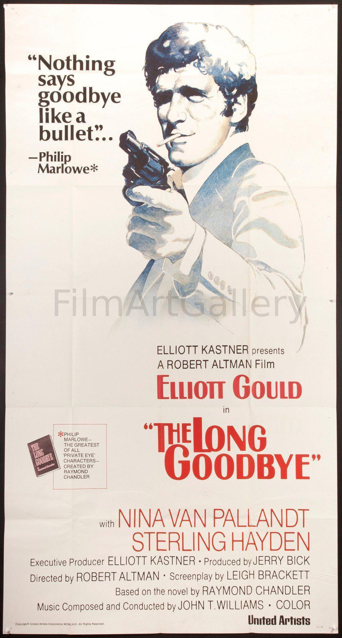The Long Goodbye 3 Sheet (41x81) Original Vintage Movie Poster