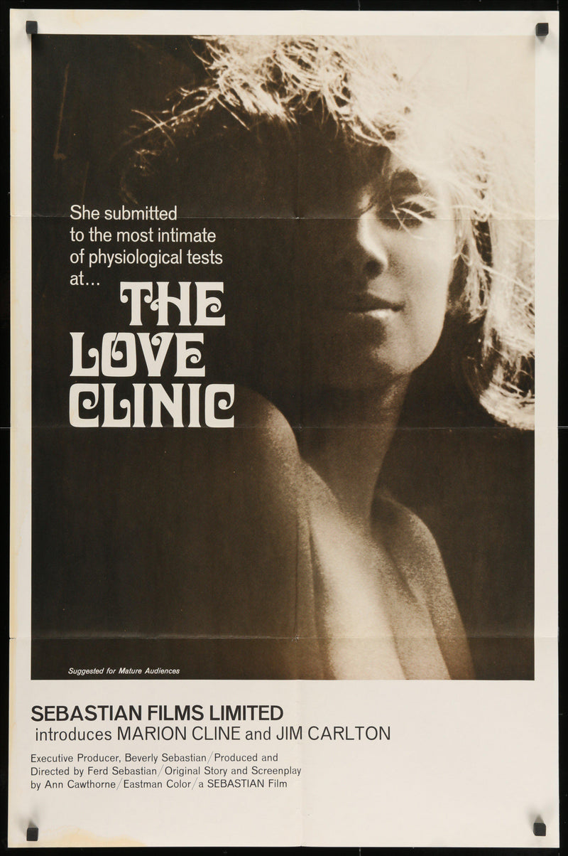 The Love Clinic 1 Sheet (27x41) Original Vintage Movie Poster