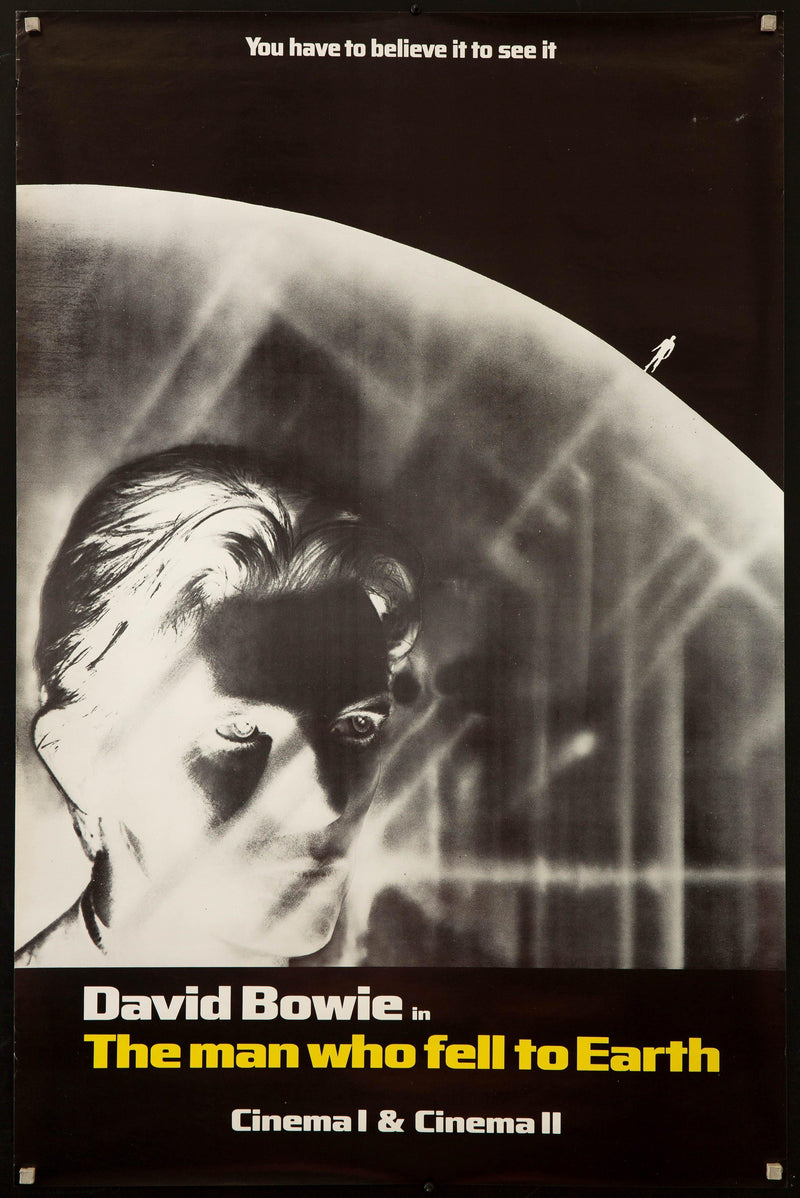 The Man Who Fell to Earth Subway 1 sheet (29x45) Original Vintage Movie Poster