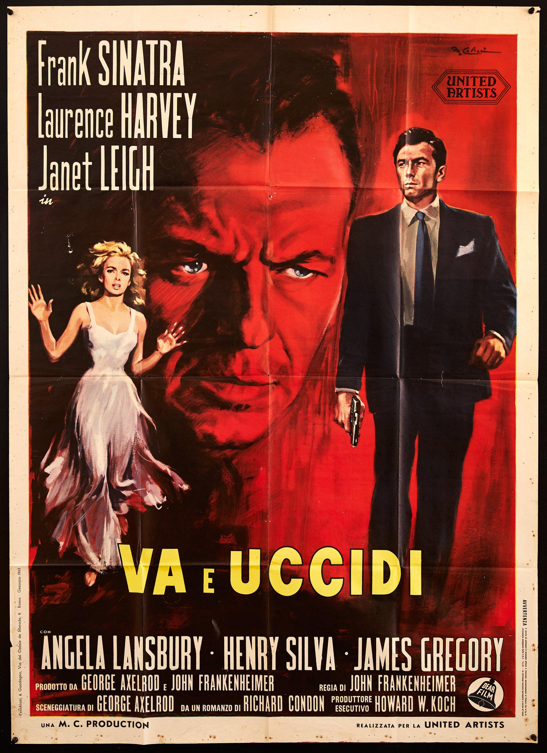 The Manchurian Candidate Italian 2 foglio (39x55) Original Vintage Movie Poster