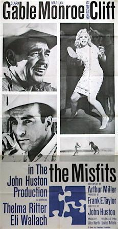 The Misfits 3 Sheet (41x81) Original Vintage Movie Poster