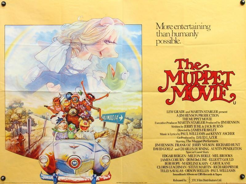 The Muppet Movie British Quad (30x40) Original Vintage Movie Poster