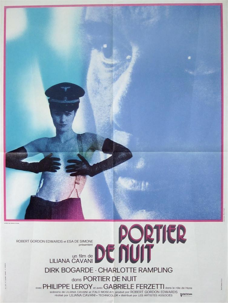 The Night Porter French small (23x32) Original Vintage Movie Poster