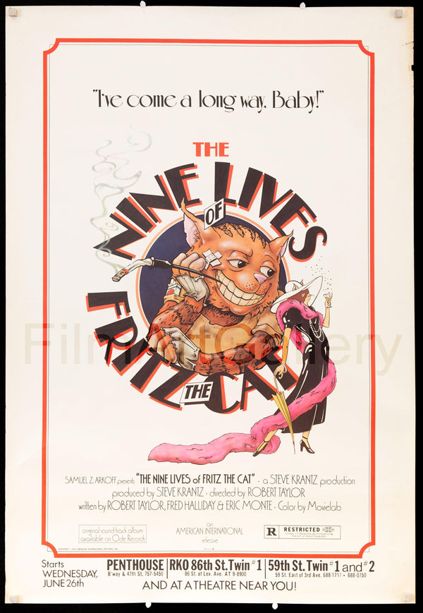 Cats Vintage Movie Posters
