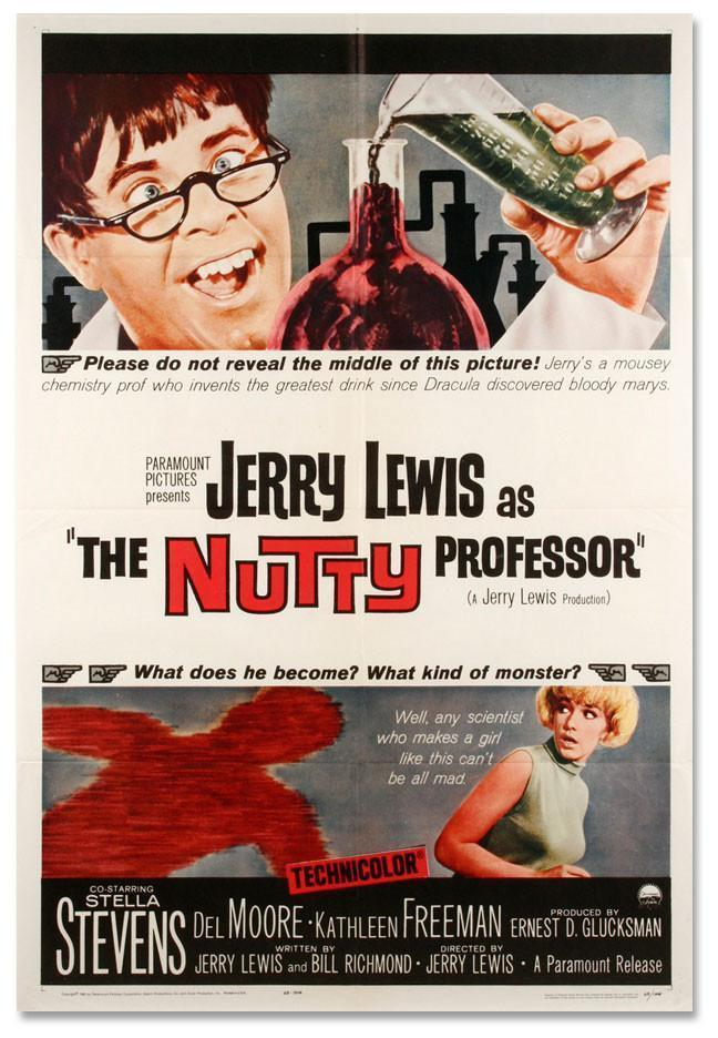 The Nutty Professor 1 Sheet (27x41) Original Vintage Movie Poster