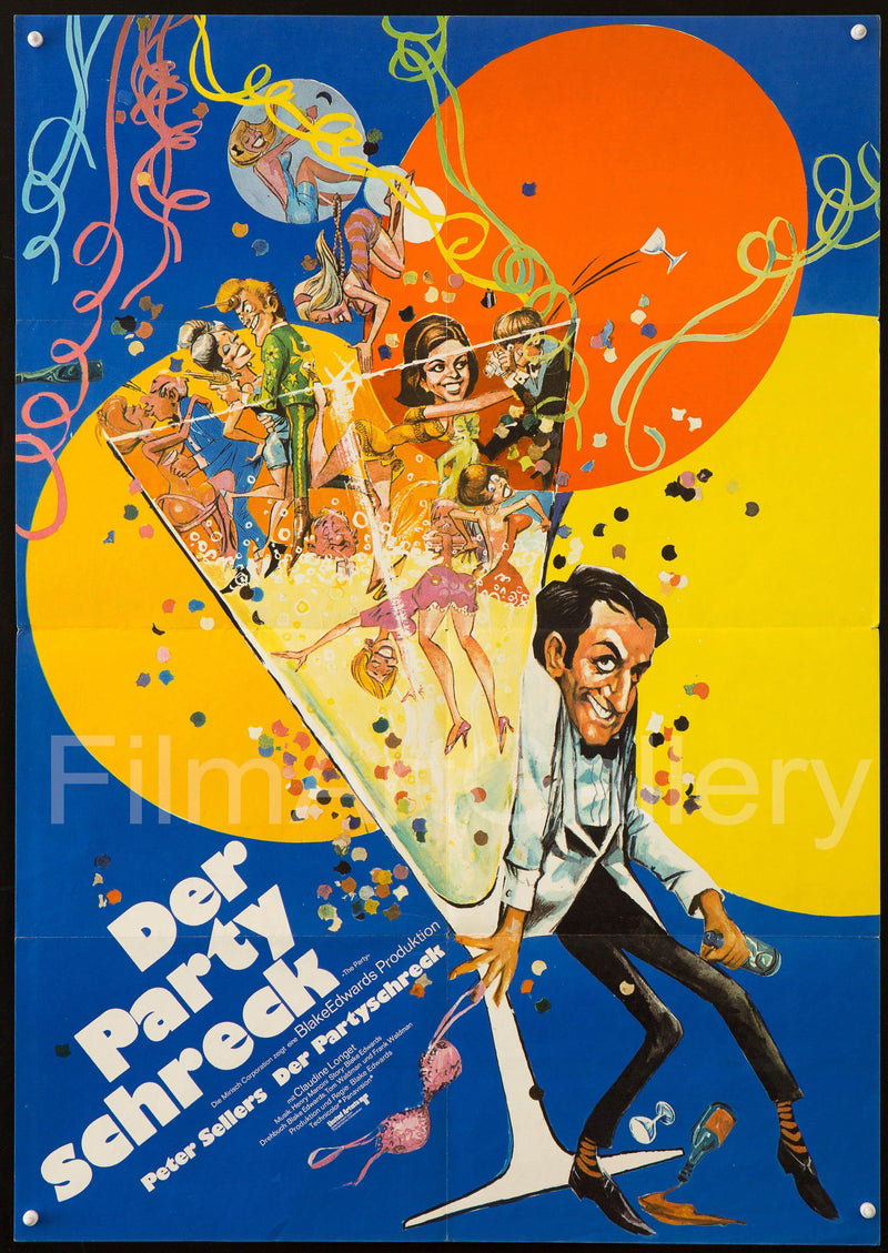 The Party German A1 (23x33) Original Vintage Movie Poster