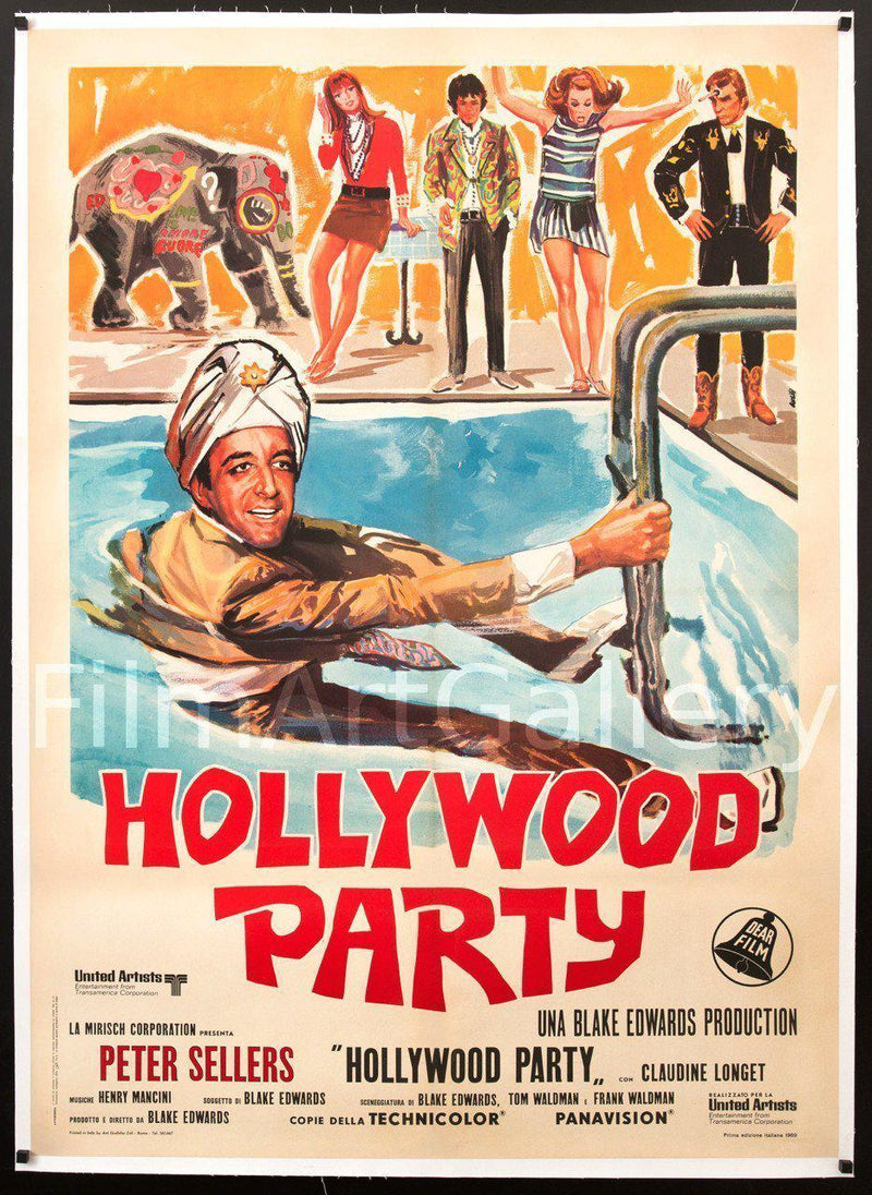 The Party Italian 2 Foglio (39x55) Original Vintage Movie Poster