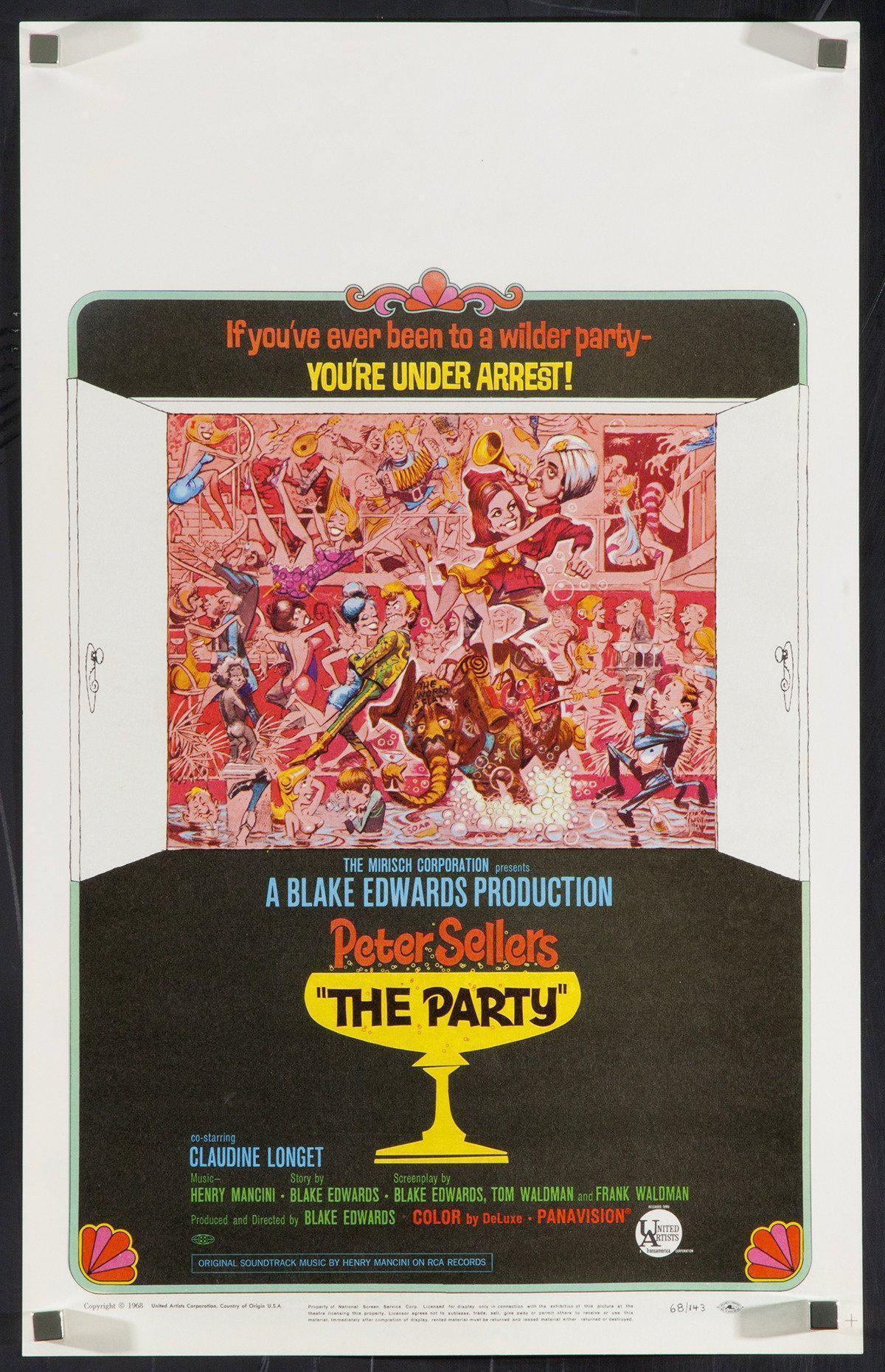 The Party Window Card (14x22) Original Vintage Movie Poster