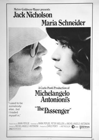 The Passenger (Professione Reporter) U.S. 30x40 Original Vintage Movie Poster