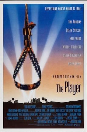 The Player 1 Sheet (27x41) Original Vintage Movie Poster