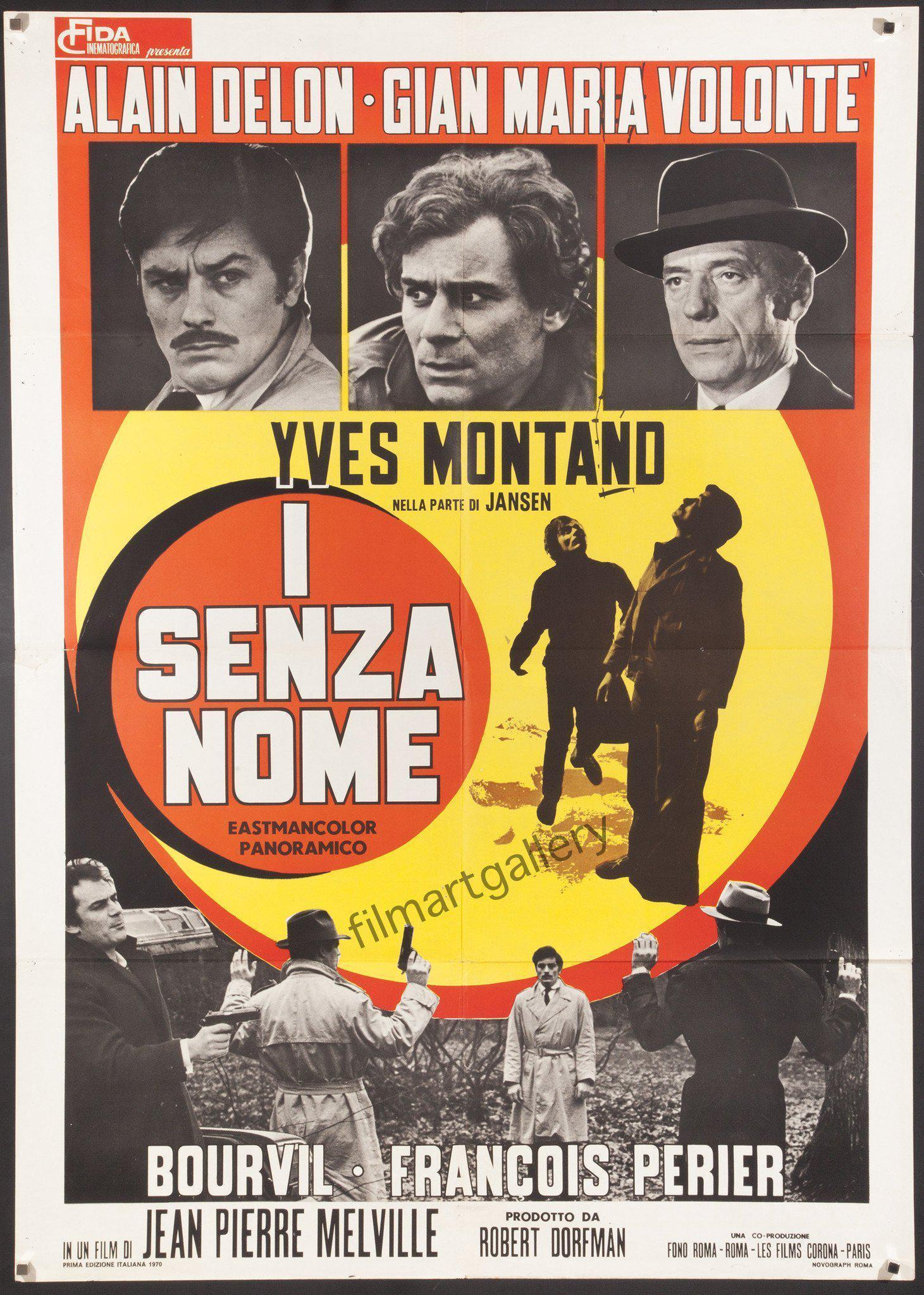 The Red Circle (Le Cercle Rouge) Italian 2 foglio (39x55) Original Vintage Movie Poster