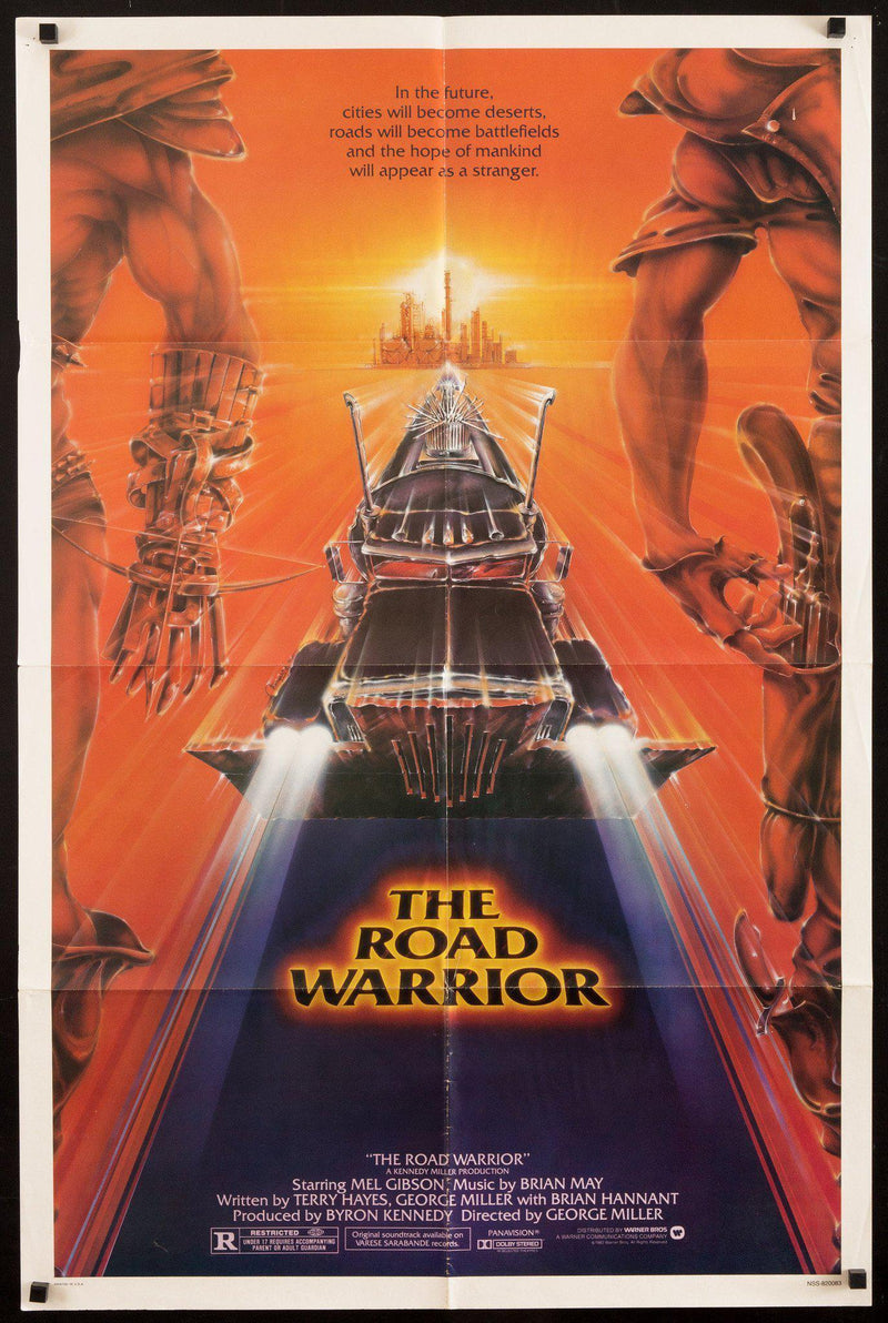 The Road Warrior 1 Sheet (27x41) Original Vintage Movie Poster