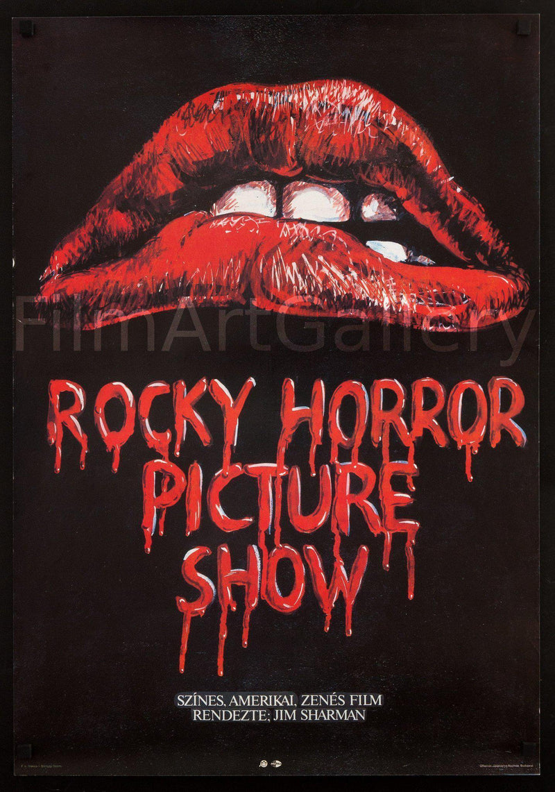 The Rocky Horror Picture Show 22x32 Original Vintage Movie Poster