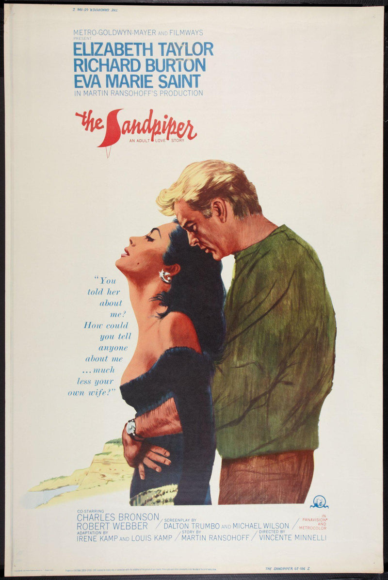 The Sandpiper 40x60 Original Vintage Movie Poster