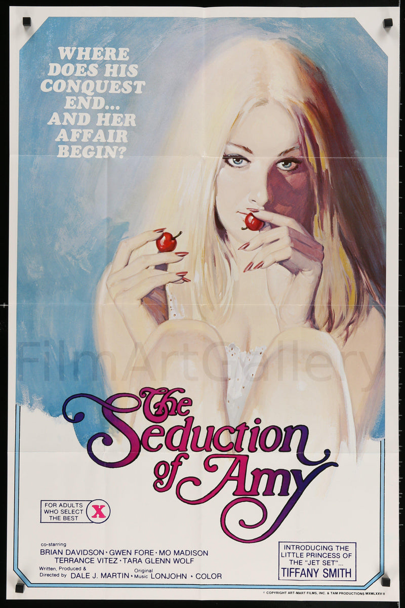The Seduction of Amy 1 Sheet (27x41) Original Vintage Movie Poster
