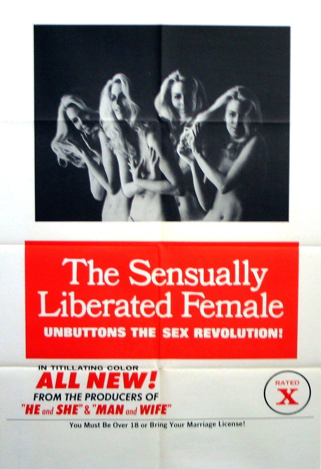 The Sensually Liberated Female 1 Sheet (27x41) Original Vintage Movie Poster