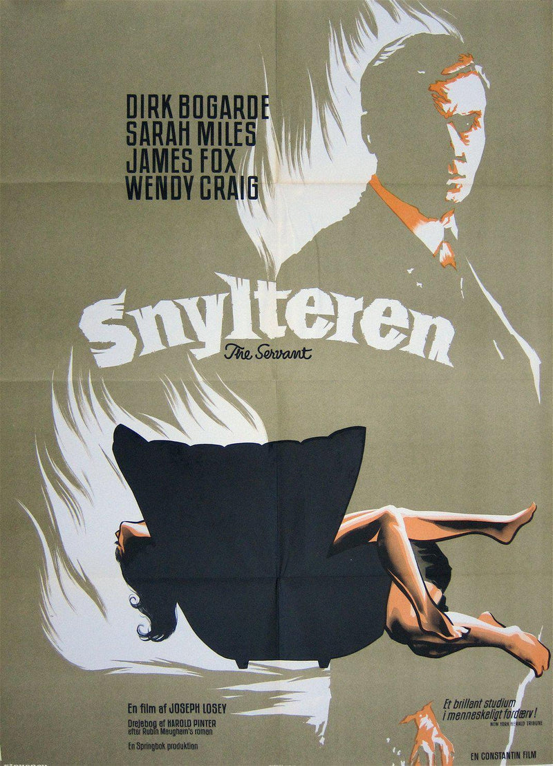 The Servant 24x33 Original Vintage Movie Poster