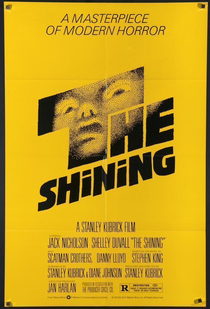 The Shining 1 Sheet (27x41) Original Vintage Movie Poster