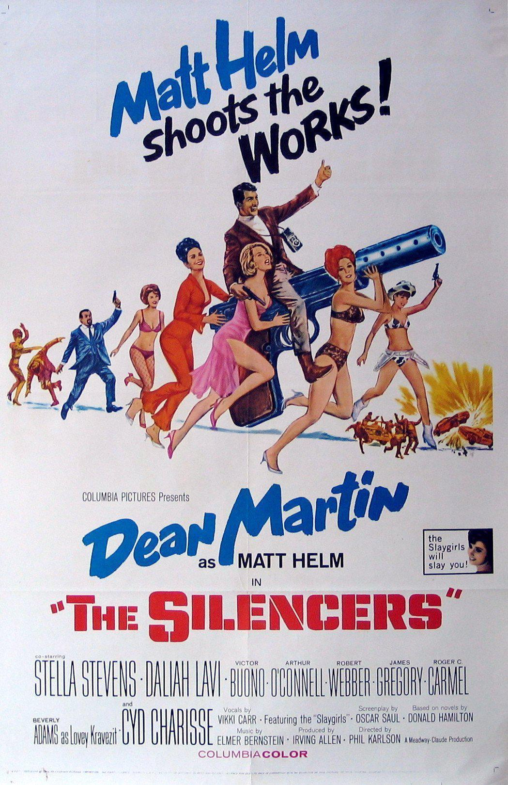 The Silencers 1 Sheet (27x41) Original Vintage Movie Poster