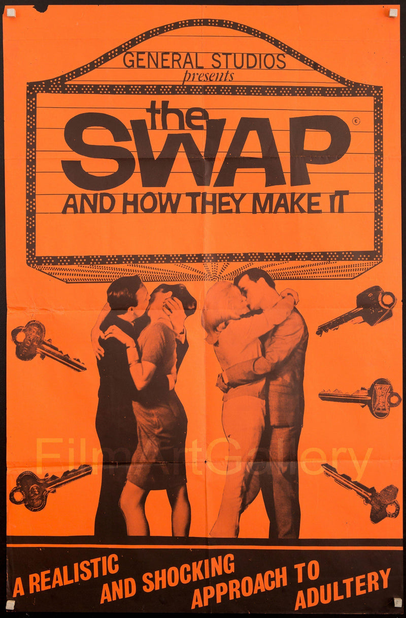 The Swap (and How They Make It) 1 Sheet (27x41) Original Vintage Movie Poster