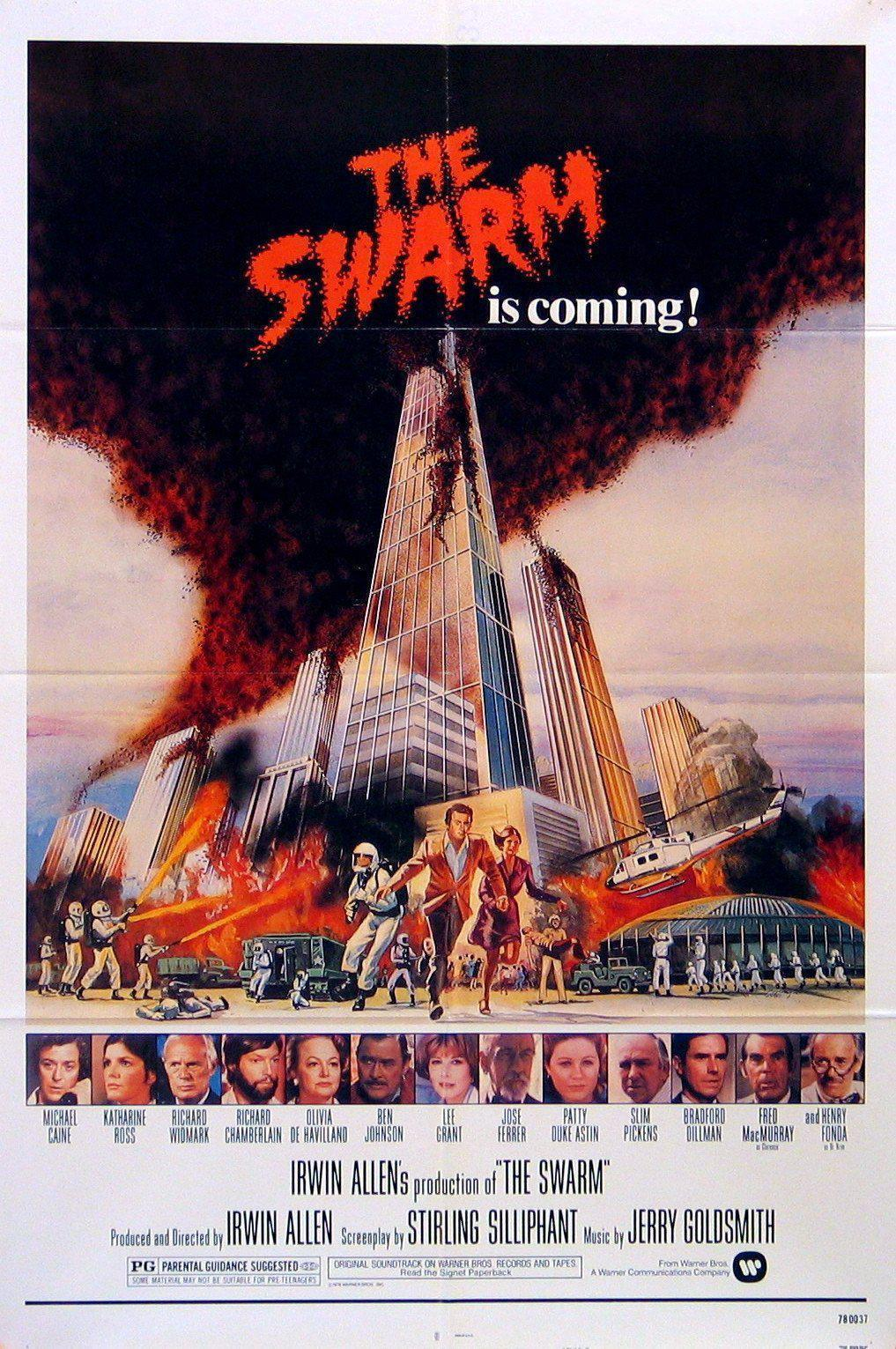 The Swarm 1 Sheet (27x41) Original Vintage Movie Poster