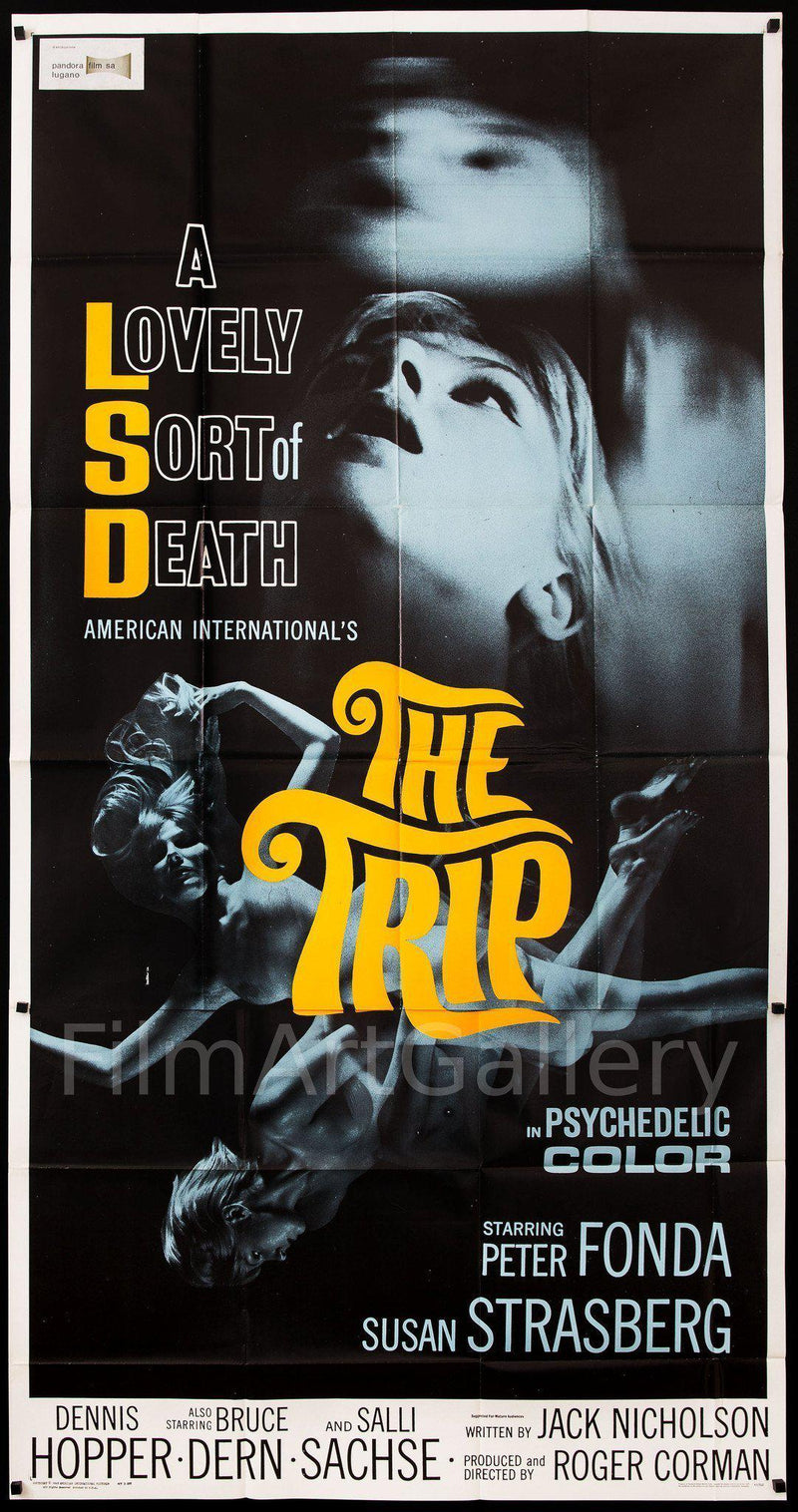 The Trip 3 Sheet (41x81) Original Vintage Movie Poster