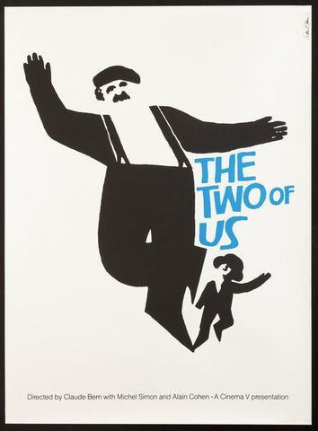 The Two of Us 26 x 35.5 Original Vintage Movie Poster