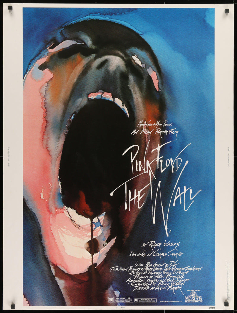 The Wall 30x40 Original Vintage Movie Poster