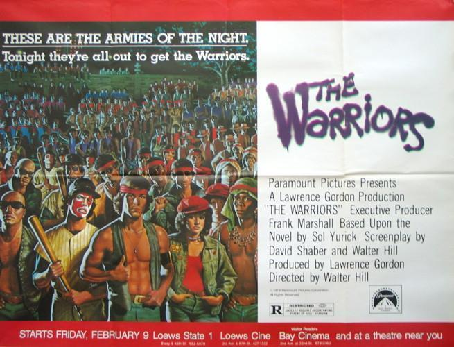 The Warriors Subway 2 sheet (45x59) Original Vintage Movie Poster