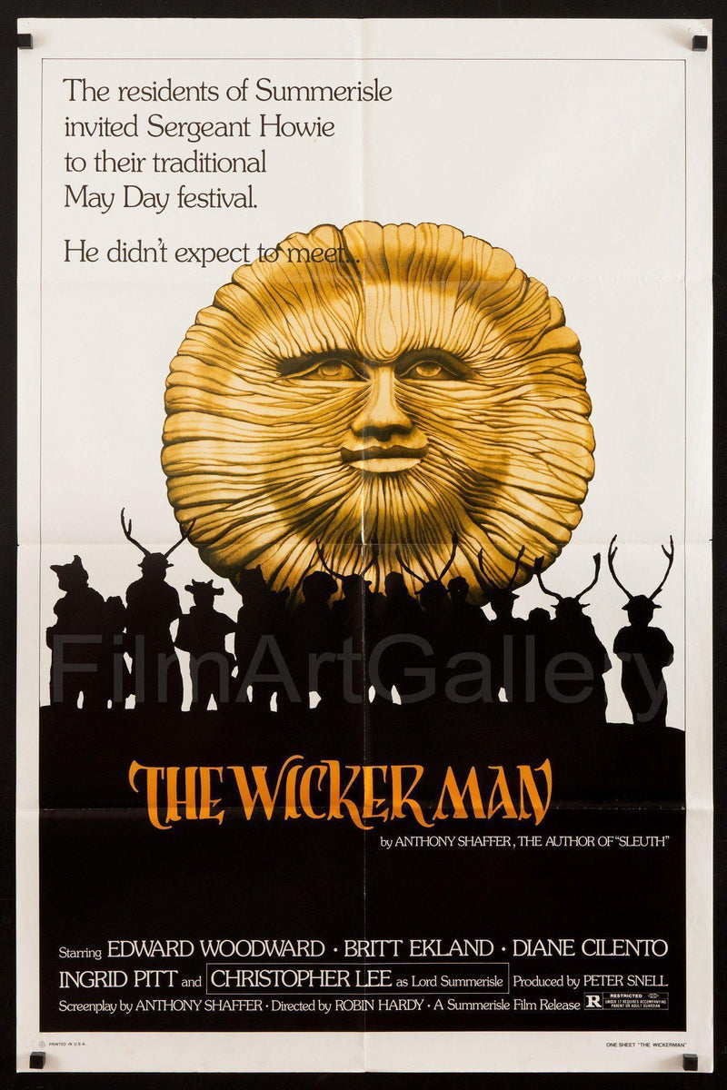The Wicker Man 1 Sheet (27x41) Original Vintage Movie Poster