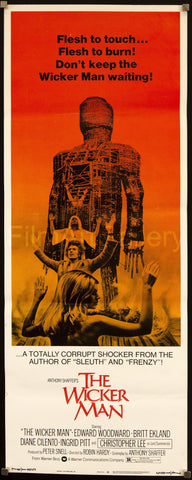 The Wicker Man Insert (14x36) Original Vintage Movie Poster