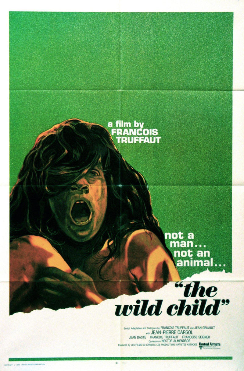The Wild Child 1 Sheet (27x41) Original Vintage Movie Poster