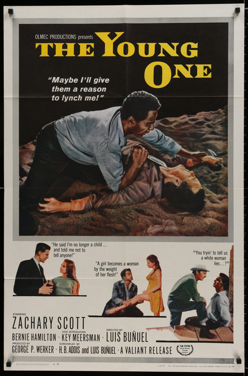 The Young One (La Joven) 1 Sheet (27x41) Original Vintage Movie Poster