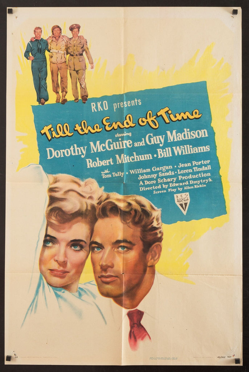 Till the End of Time 1 Sheet (27x41) Original Vintage Movie Poster