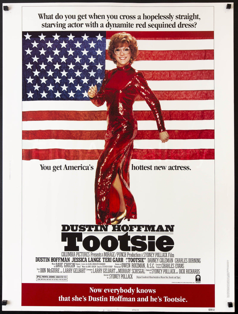 Tootsie 30x40 Original Vintage Movie Poster