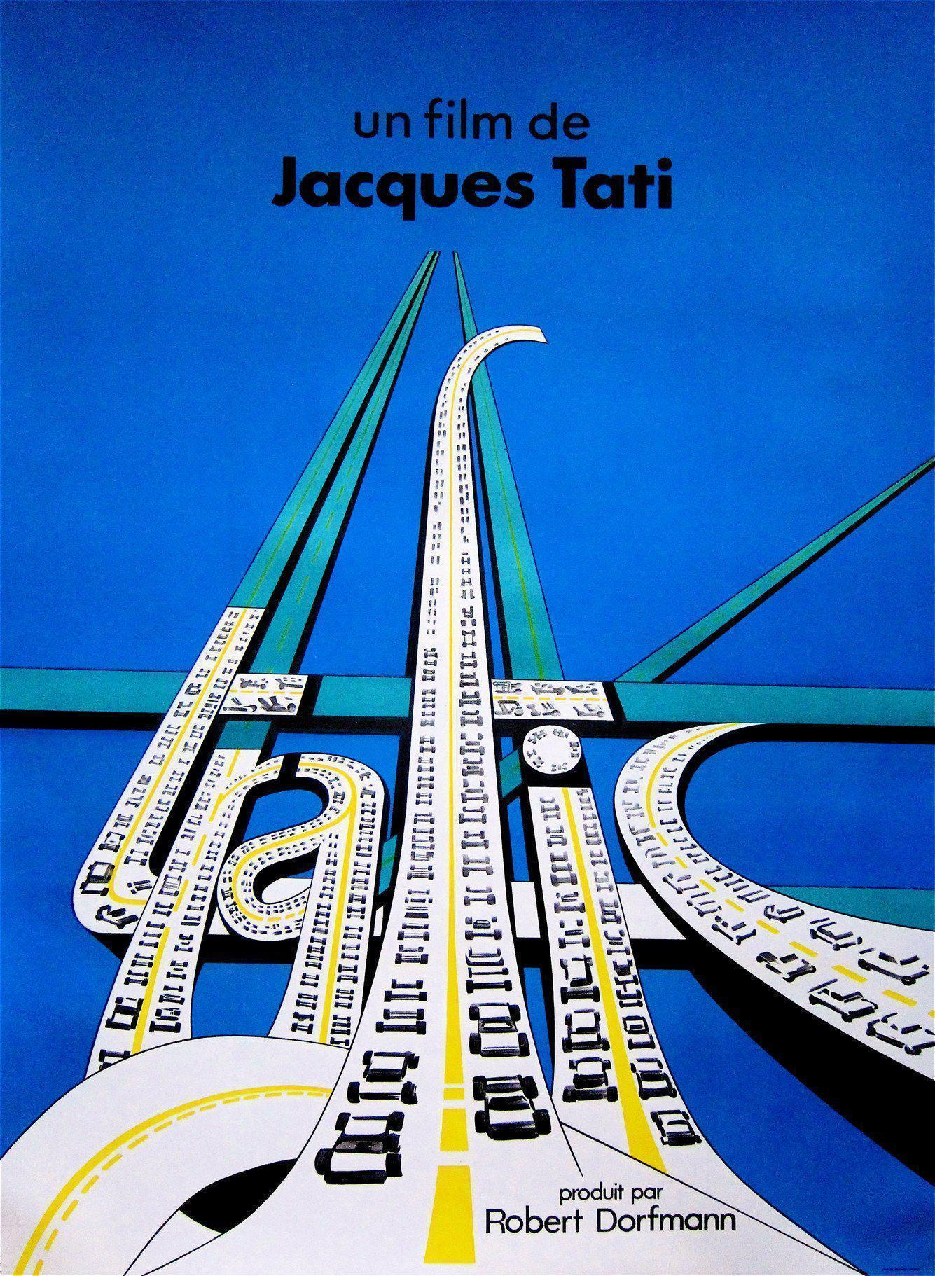 Trafic French 1 panel (47x63) Original Vintage Movie Poster
